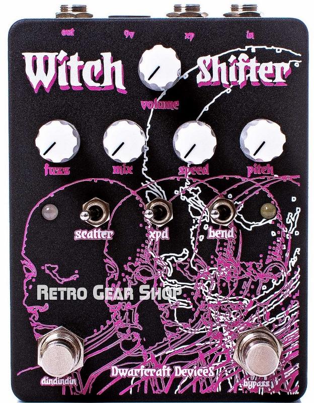 【レビューを書いて次回送料無料クーポンGET】Dwarfcraft Devices Witch Shifter エフェクター【1年保証】【ドワーフクラフトデヴァイセズ】【新品】