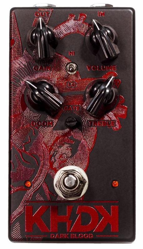 【レビューを書いて次回送料無料クーポンGET】KHDK Electronic Dark Blood エフェクター[並行輸入品][直輸入品]【カーク・ハメット】【新品】