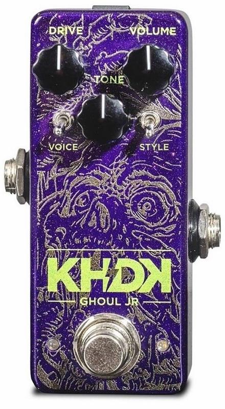 【レビューを書いて次回送料無料クーポンGET】KHDK Electronic Ghoul Jr Kirk Hammett エフェクター[並行輸入品][直輸入品]【カーク・ハメット】【新品】