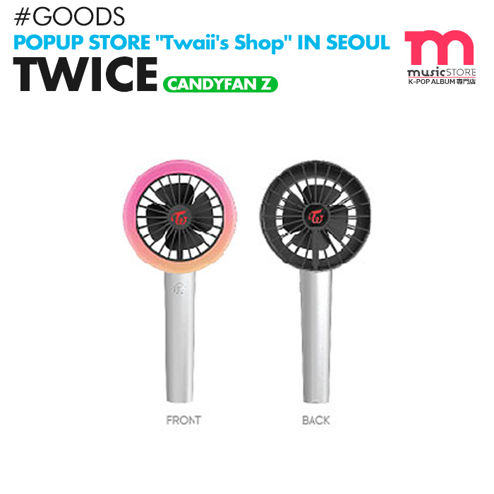 TWICE CANDYBONG Z mini-electric fan CANDYFAN Z Tuwais POP-UP STORE Twaii's  Shop formula goods