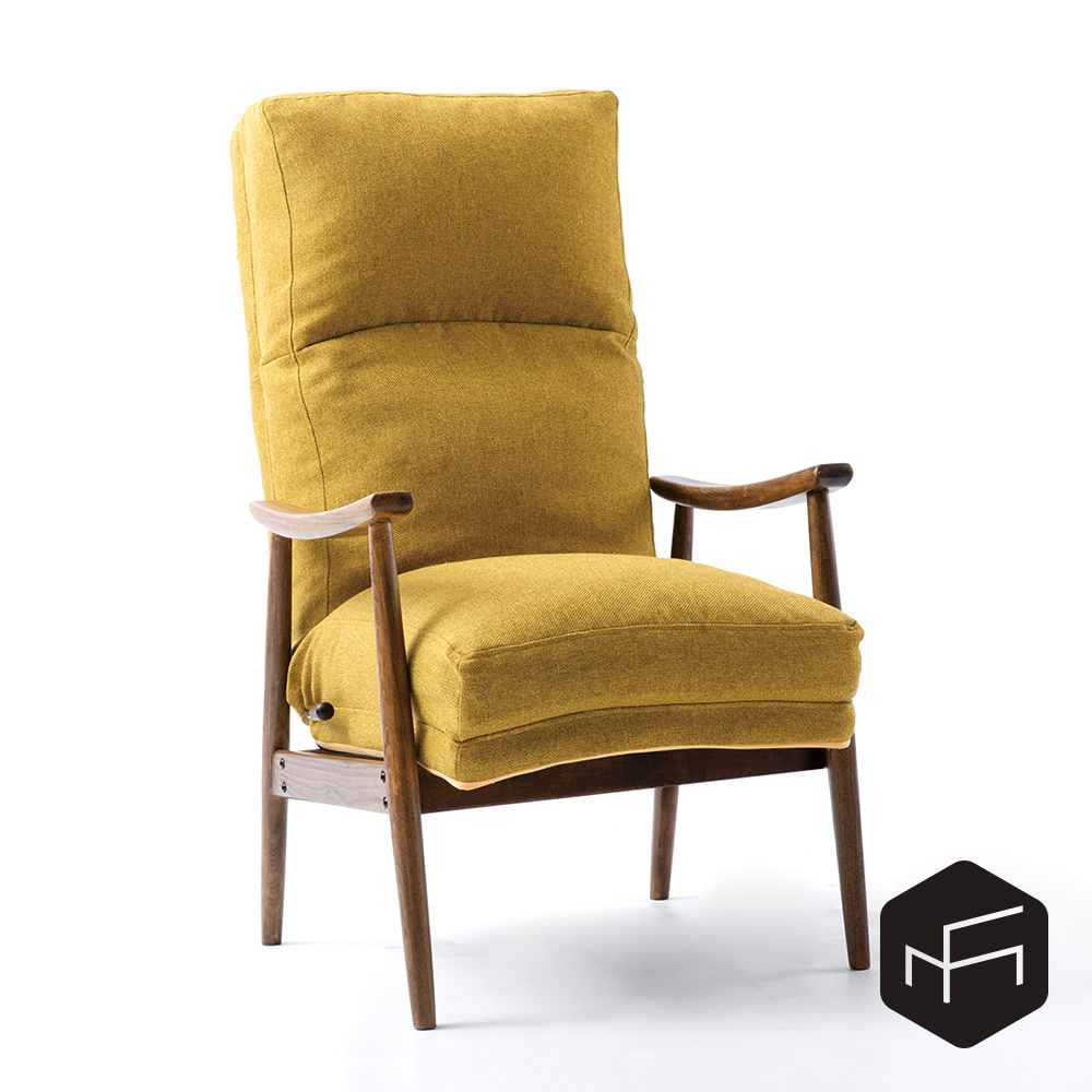 Fondu 1 Seater /イージーチェア/ダイニングチェア/イス/椅子/ソファー/1人掛け/北欧/1人暮らし/2人暮らし/書斎/勉強/おしゃれ/デザイナー/ダイニングチェア/ビーチ/天然木/