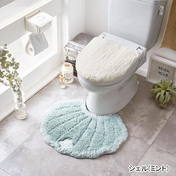 メリージェラートトイレ3点セット(マット&便座シート&フタカバー・ミント)