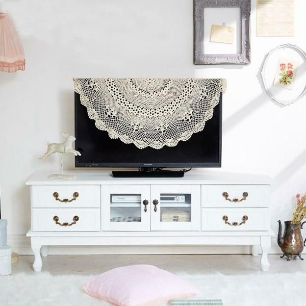 取っ手が選べる猫脚テレビ台大/Ruban(リュバン)【直送】