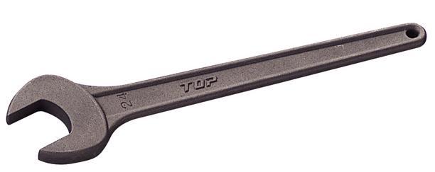 トップ工業(TOP) 丸形片口スパナ 77mm RS-77