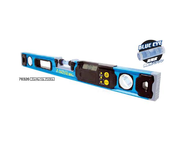 シンワ測定 ブルーレベル デジタル 600mm マグネット付 76327