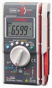 三和電気計器 デジタルマルチメータ(複合タイプ) PM33a