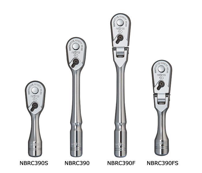 9.5sq.kompakutofurekkusurachiettohandoru NBRC390F nepros(nepurosu/KTC)