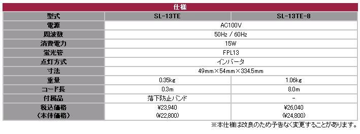 强壮灯SL-13TE-8嵯蛾电机(SAGA)