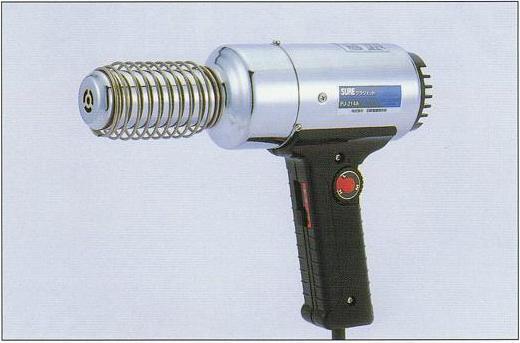 SURE(石崎電機製作所) 熱風機プラジェット(温度可変式) PJ-214A