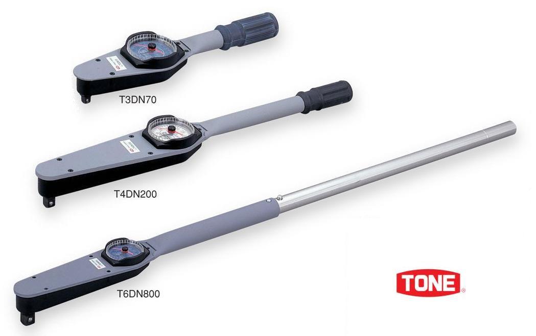 號碼盤形扭矩扳手T3DN15 TONE(tone)