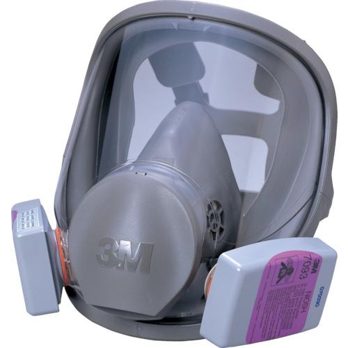 3M(スリーエム) 取替式防じんマスク 6000F/7093-RL3 Mサイズ 6000F/7093-RL3M