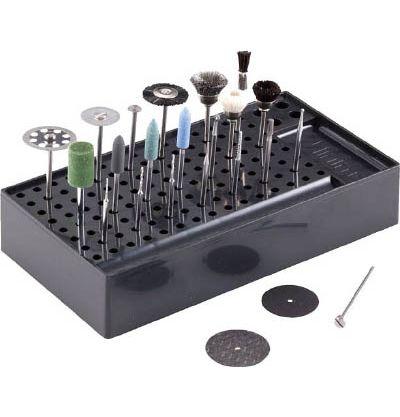 ミニター(MINITOR) 理化学・医学研究室用工具セット (切・削・磨・穴) ZC1220