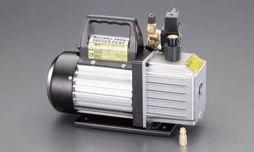 エスコ(ESCO) 142L 電磁弁付真空ポンプ EA112FA-4