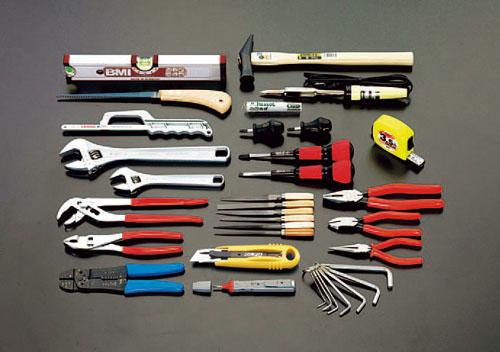 エスコ(ESCO) [34個組] 機械修理用工具セット EA5