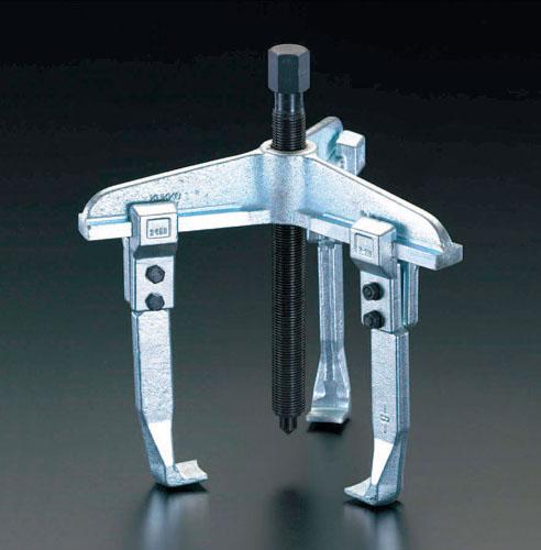 【セール期間中ポイント2~5倍!】エスコ(ESCO) 250mm スライドアームプーラー(3本爪) EA500AR-250