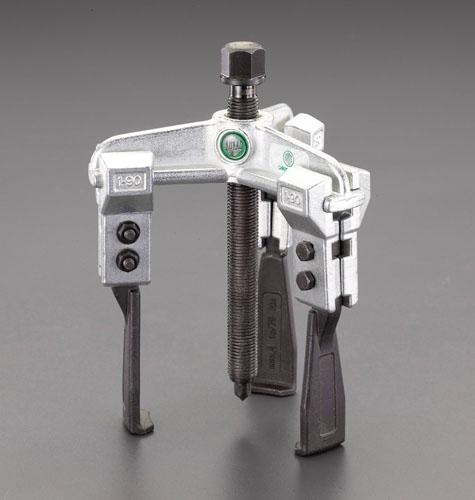 エスコ(ESCO) 130mm スライドアームプーラー(3本爪/超薄爪) EA500CH-130