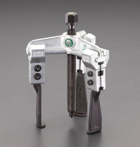 エスコ(ESCO) 90mm スライドアームプーラー(3本爪/超薄爪) EA500CH-90
