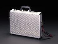 エスコ(ESCO) 440x90x320mm アルミケース EA502TC-2