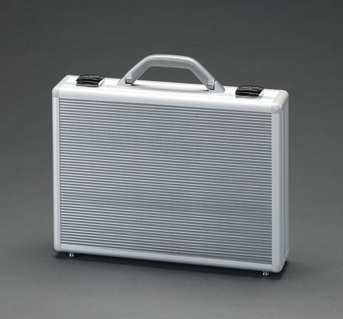 【セール期間中ポイント2~5倍!】エスコ(ESCO) 410x80x300mm パソコンケース(アルミ製) EA502TG-3