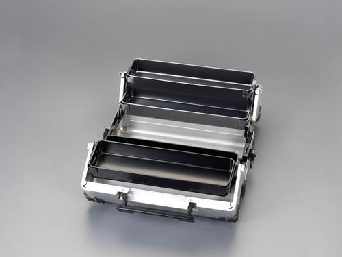エスコ(ESCO) 440x233x230mm 両開き工具箱 EA504AD-1A