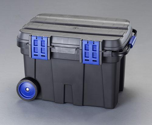エスコ(ESCO) 775x472x493mm 収納ケース(キャスター付) EA505RA-100