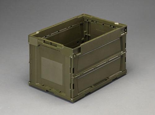 エスコ(ESCO) 764x455x458mm/131L 折畳コンテナ(OD/5個) EA506AA-20E