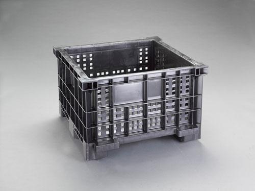 【直送】【代引不可】エスコ(ESCO) 1000x700x545mm/203L コンテナ EA506AG-32