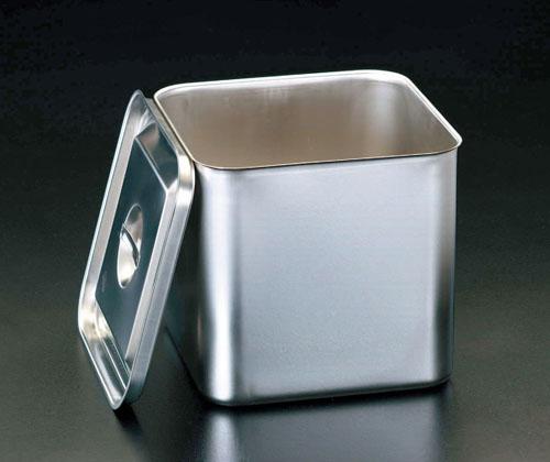 エスコ(ESCO) 250x250x235mm 深型BOX(ステンレス製) EA508SC-16