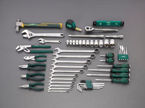 エスコ(ESCO) [56個組]工具セット EA51