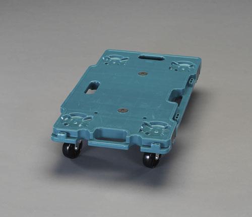 エスコ(ESCO) 680x390mm/120kg ドーリー(連結型/PP製) EA520AB-8G
