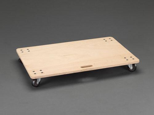 エスコ(ESCO) 600x900mm/150kg ドーリー(木製) EA520AD-61