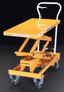 【直送】【代引不可】エスコ(ESCO) 520x1010mm/500kg テーブルリフト EA520X-12
