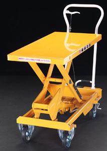 【直送】【代引不可】エスコ(ESCO) 520x1010mm/750kg テーブルリフト EA520X-4