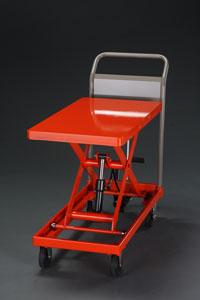 【直送】【代引不可】エスコ(ESCO) 500x800mm/500kg テーブルリフト EA520XA-4A