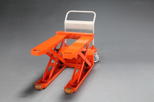 【直送】【代引不可】エスコ(ESCO) 685x1080mm/1000kgテーブルリフト(低床) EA520XD-2
