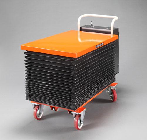 【直送】【代引不可】エスコ(ESCO) 600x1050mm/350kg テーブルリフト(電動式) EA520XL-2