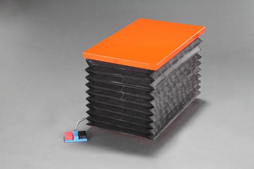 【直送】【代引不可】エスコ(ESCO) 520x850mm/100kg テーブルリフト(電動式) EA520XN-2