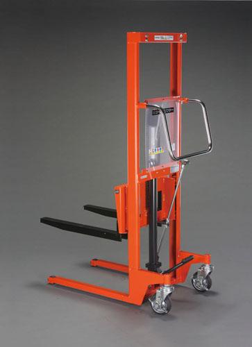 【直送】【代引不可】エスコ(ESCO) 150kg/50-1180mm 足踏式油圧リフト/低床型 EA520YB-1