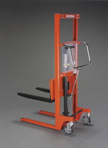 【直送】【代引不可】エスコ(ESCO) 500kg/60-1470mm 足踏式油圧リフト/低床型 EA520YB-3