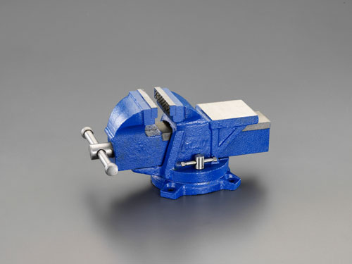 エスコ(ESCO) 125mm ベンチバイス(回転台付) EA525FC-3