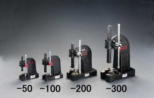 エスコ便利カタログNo.49:277P掲載 エスコ(ESCO) 1000kg アーバープレス(ラック式) EA525X-100