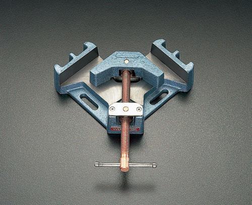 エスコ(ESCO) 220x220x63mm/85mm コーナークランプ(鋳鉄 EA526CA-2