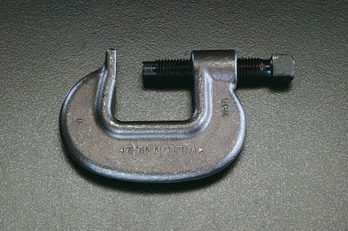 エスコ(ESCO) 0-86mm/60mm クランプ(重作業用) EA526VA-86