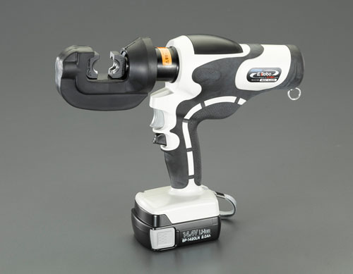 エスコ(ESCO) 8.0-60.0mm2 充電式油圧圧着工具 EA539PG-1