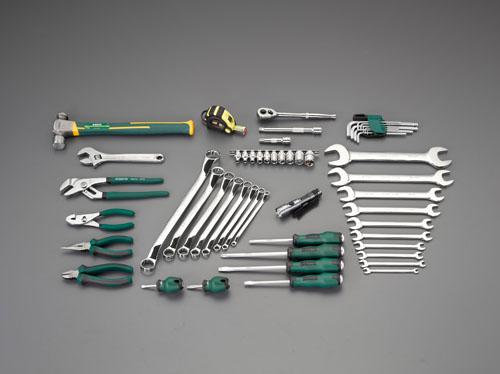 エスコ(ESCO) [54個組]工具セット EA55
