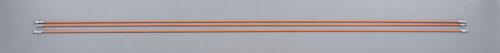 エスコ(ESCO) 4.0mmx1.5m FRP通線ロッド(3本組) EA597BM-1