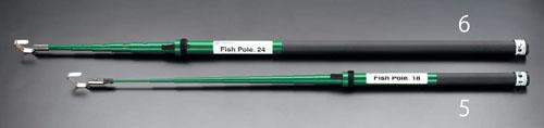 エスコ(ESCO) 0.69-5.4m フィッシュポール(伸縮型) EA597G-5