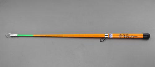 エスコ(ESCO) 4m FRPケーブルキャッチャー(ライト付) EA597G-61