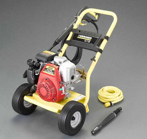エスコ(ESCO) 4.9KW 高圧洗浄機(エンジン付) EA115JA