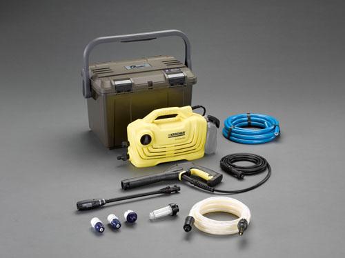 エスコ(ESCO) 高圧洗浄機(吸水ホ-ス・ケース付) EA115KM-100B